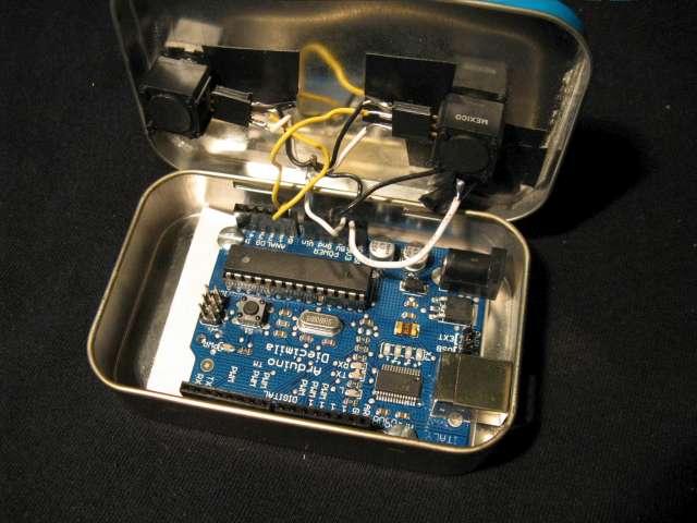 Arduino etch a sketch
