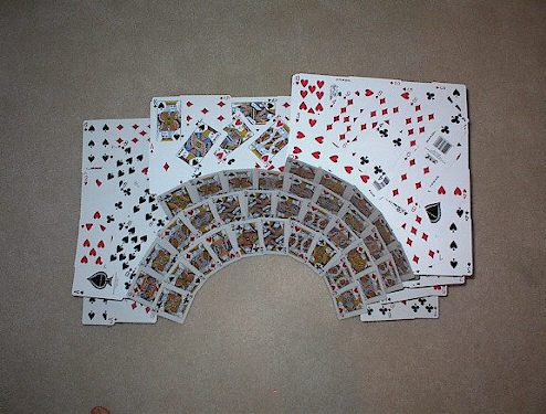 Card Houses House Of Playing Cards